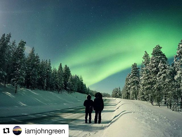 #Repost @iamjohngreen (@get_repost) ・・・ Well... This was a bit special. It's been cloudy pretty much all day but we spent a while driving around anyway in the hope of seeing something and then suddenly we witnessed the most amazing show 😮 ——————————————— #Finland #Lapland #Scandinavia #northernlights #arctic #sky #nature #aurora #travel #adventure #stars #landscape #landscapephotography #snow