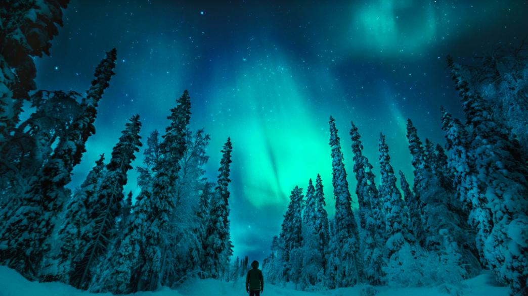 Aurora Hunting by car