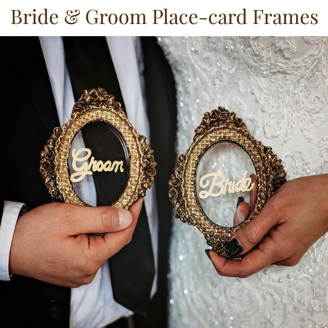 Bride & Groom Place-Card Frames.png