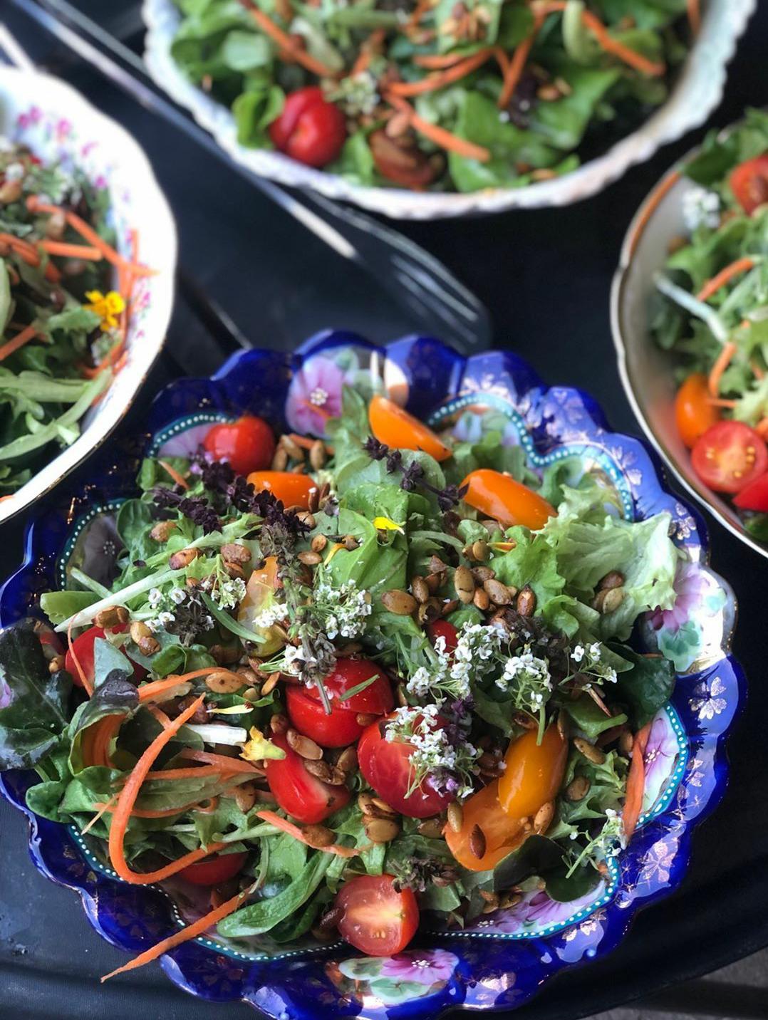Green Salad by Organic Gypsy