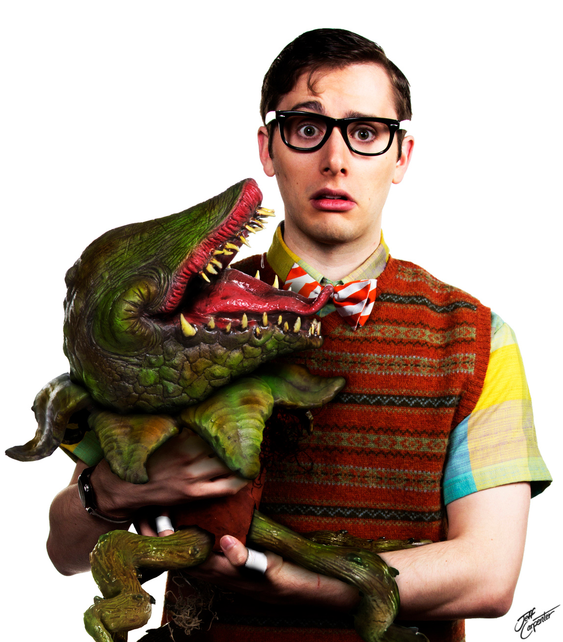 The 5th Avenue Theatre  and  ACT Theatre 's   Little Shop of Horrors.  Composite by August Laguio.
