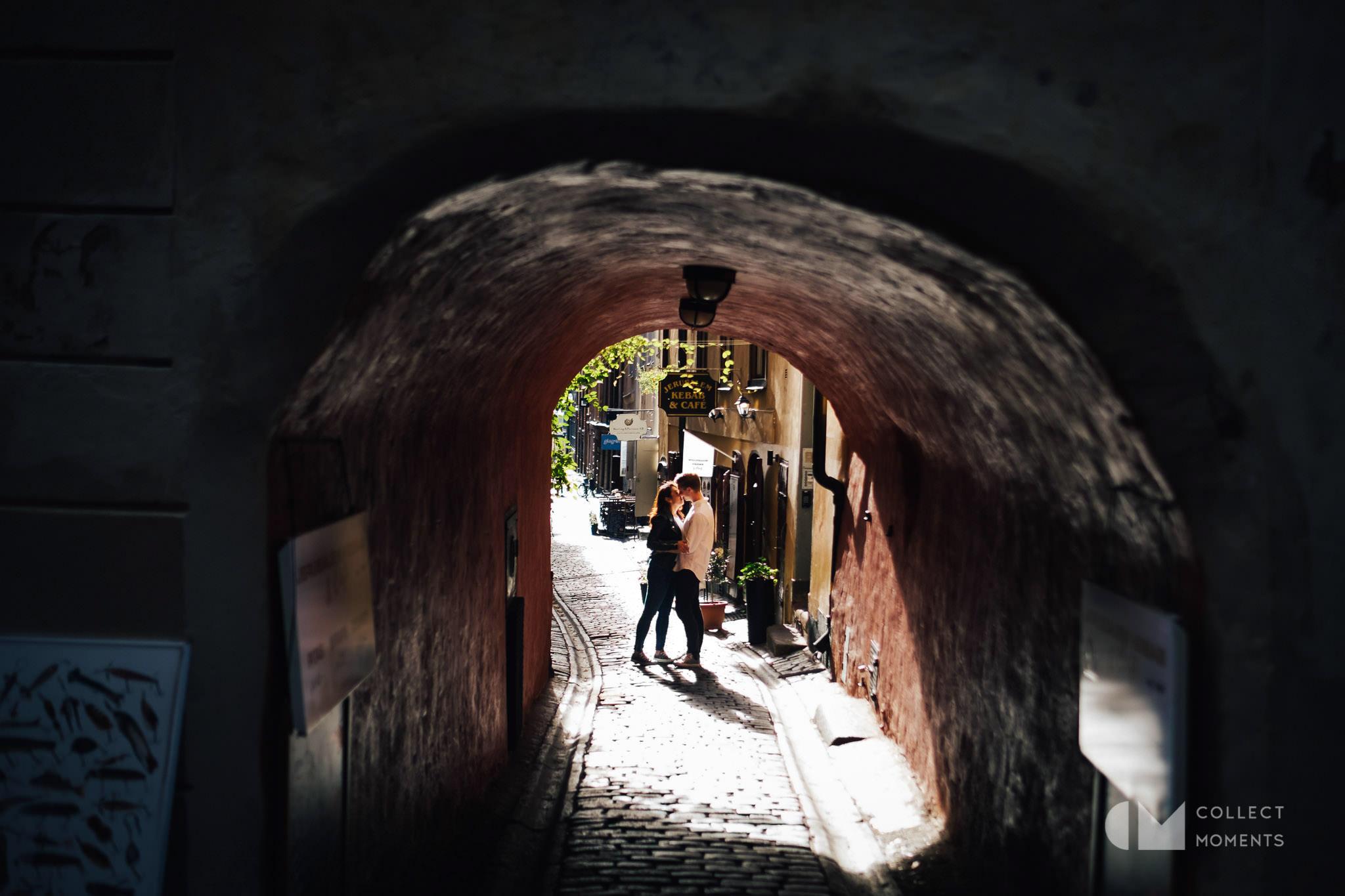 ストックホルム旧市街の様子