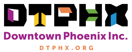 Created in 2013 as a community development group,   Downtown Phoenix Inc.   promotes the continued revitalization of downtown Phx!