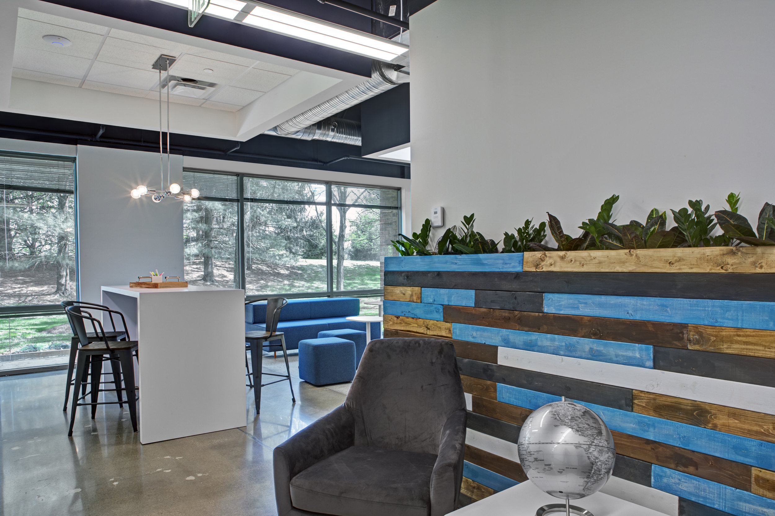 """Featured in the Baltimore Business Journal: """"The interior of the newly created Choice Cybersecurity offices in Owings Mills."""""""