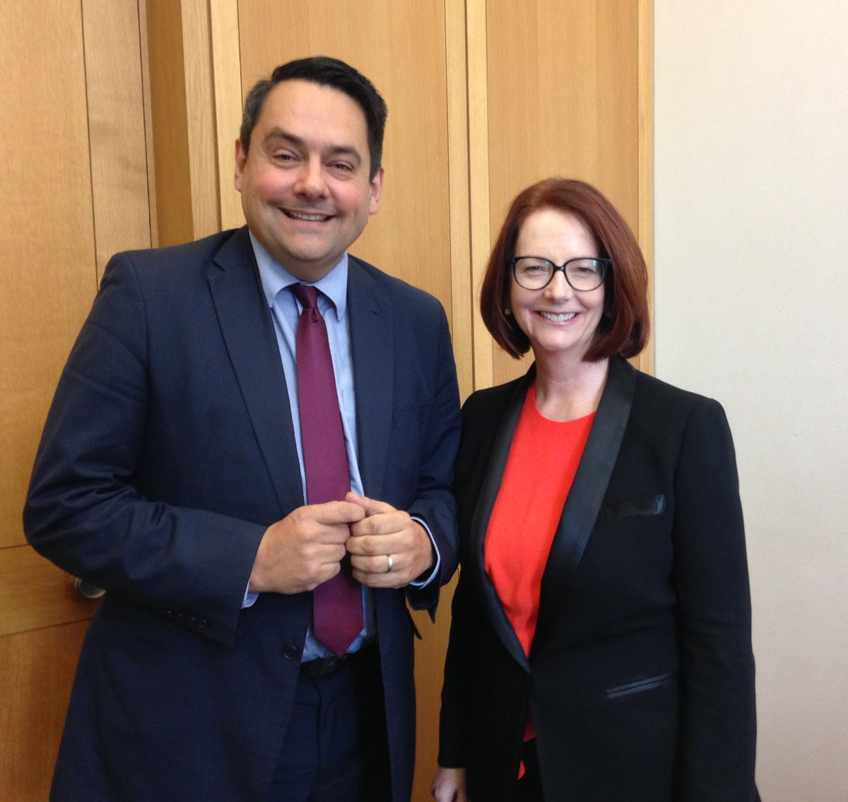 Meeting with former Australian Prime Minister, Julia Gillard to discuss the International Development Committee's    inquiry into the work of DFID   on education