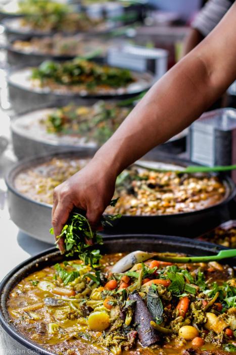 Moroccan Food Preparation