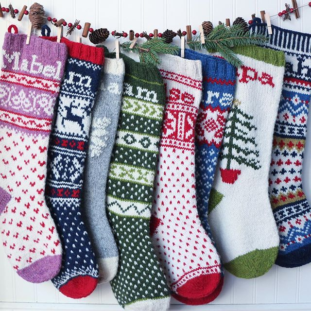 "I know- TOO EARLY to be seeing Christmas posts, but NOT too early to start knitting for Christmas!  Will this be the year you finally get on those family stockings?? 🧦  Hard copy of my stocking pattern book, ""Comfort and Joy"" is available on my website. Ebook is available on my website and Ravelry. Also, for the first time ever, you can purchase the individual patterns on @hi.ravelry . 🧦  Looking for some guidance?  If you're local to Michigan, I have two upcoming workshops at @spunannarbor (see dates in my story 👆). 🧦  Can't knit but looking to purchase stockings?  I will be doing a limited run before the holidays. Stockings will be $125 USD each. I will post more on this soon, but direct message me if interested!  #comfortandjoy #handknitstockings"