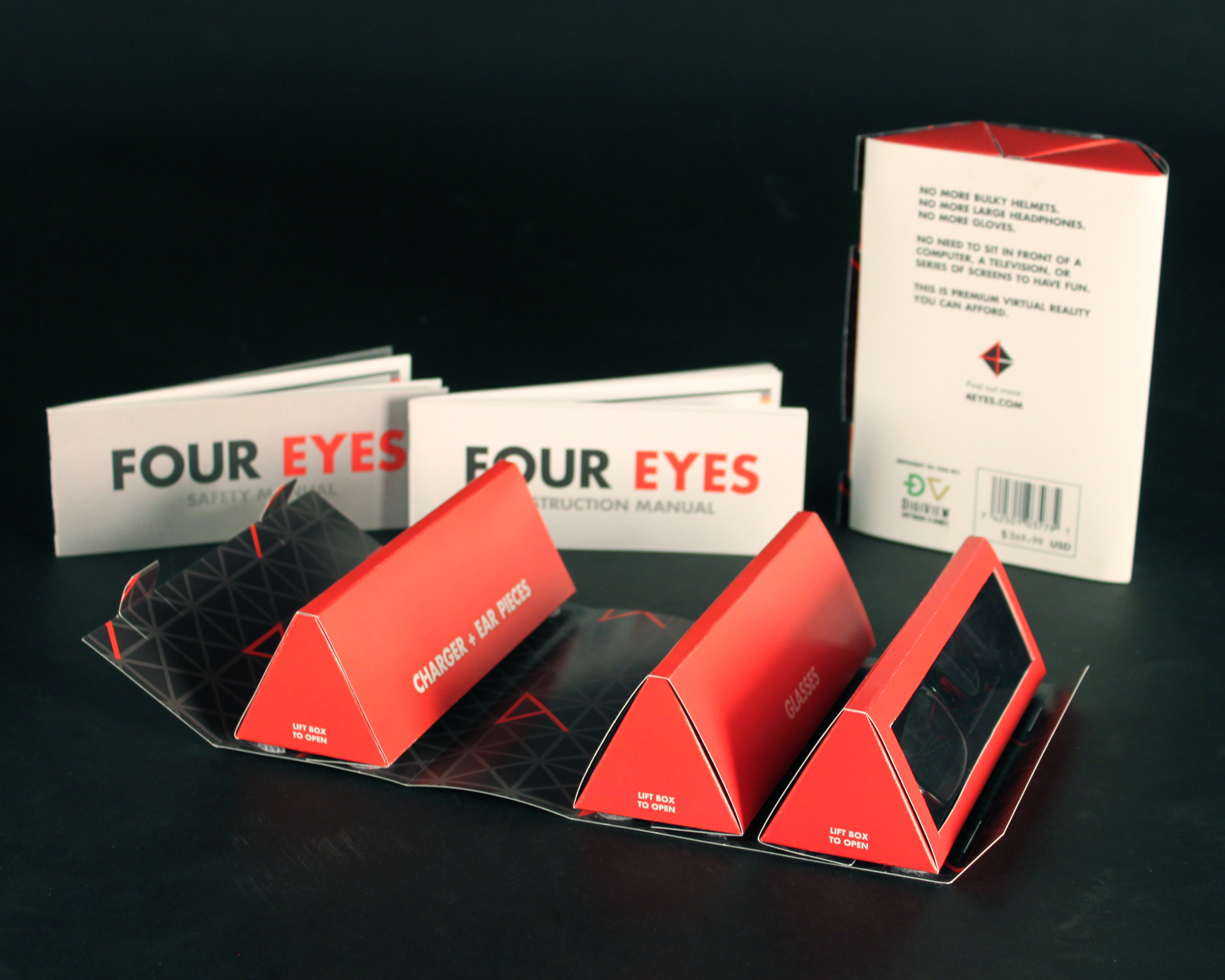 Four Eyes Packaging & Collateral