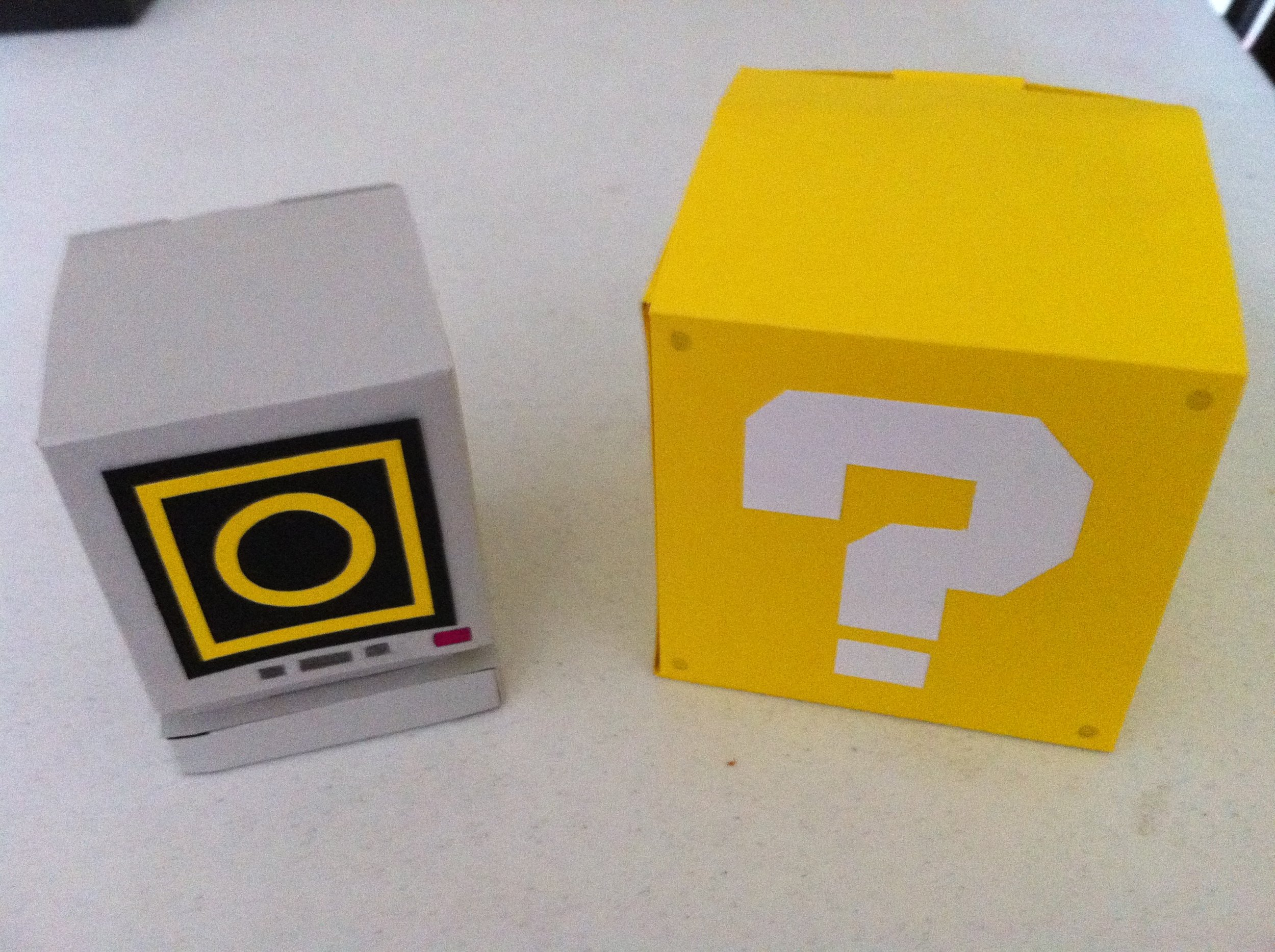 Sonic Ring Box & Mario Question Block Containers, 2011