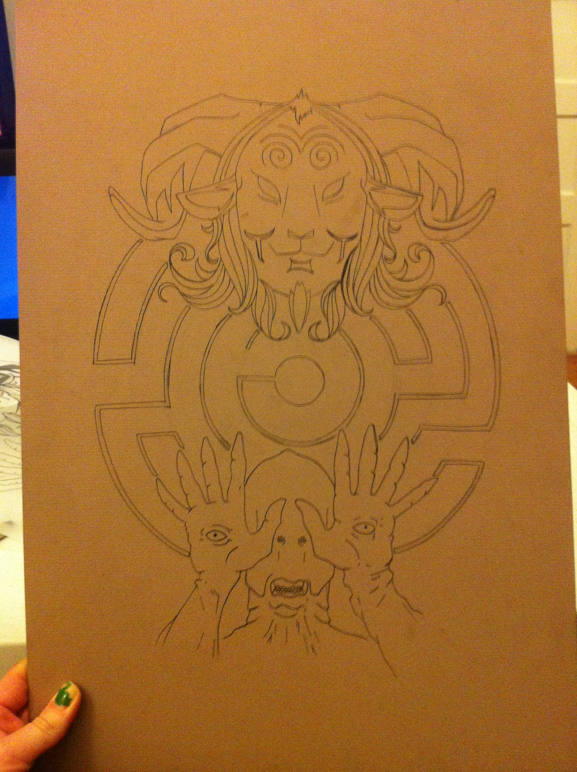 Unfinished Pan's Labyrinth, 2012