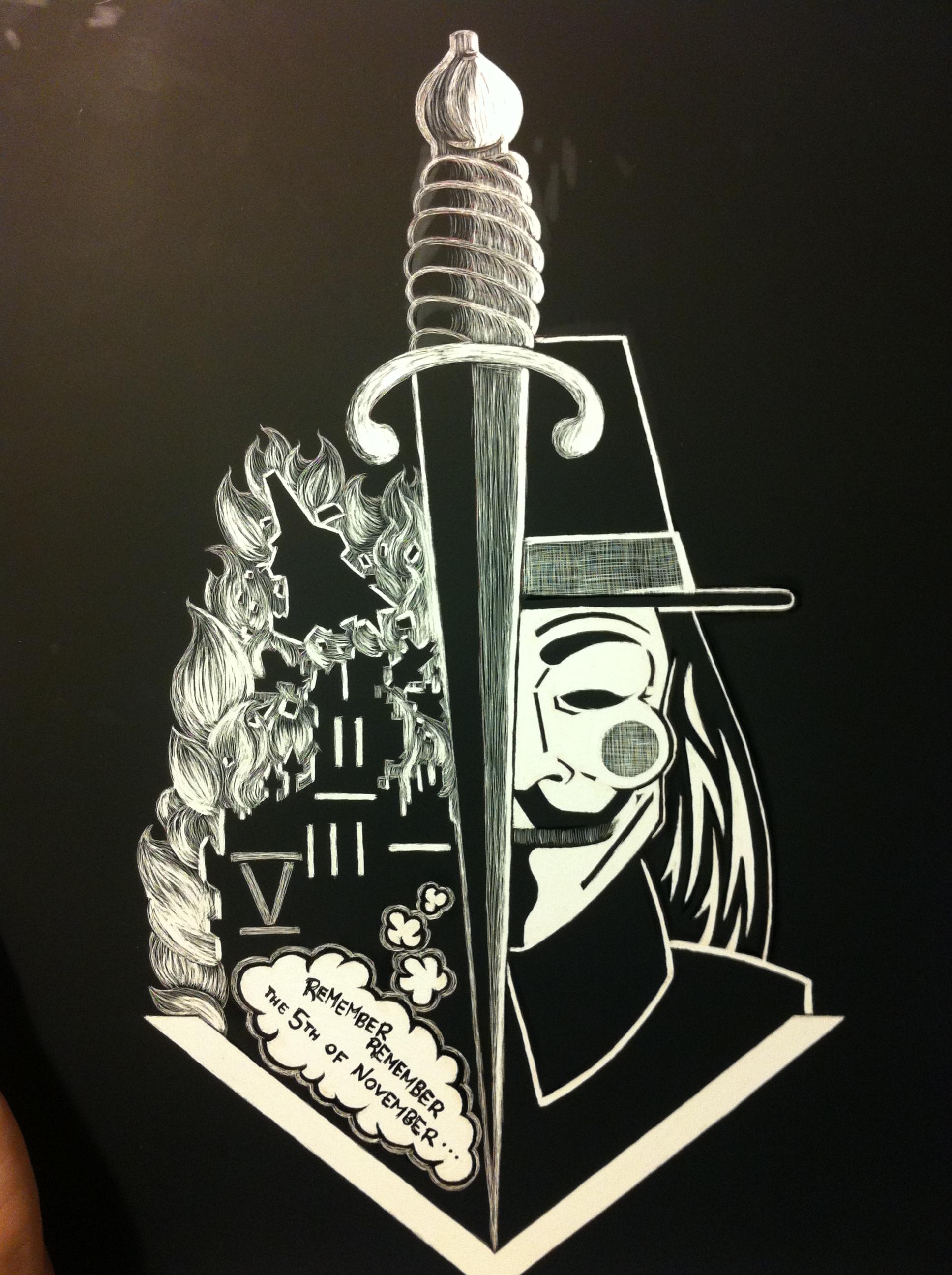 V for Vendetta, 2012