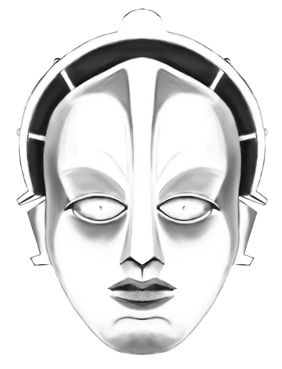 Maschinenmensch (a.k.a. Robo-Maria) from Metropolis, from unifinished project, 2015