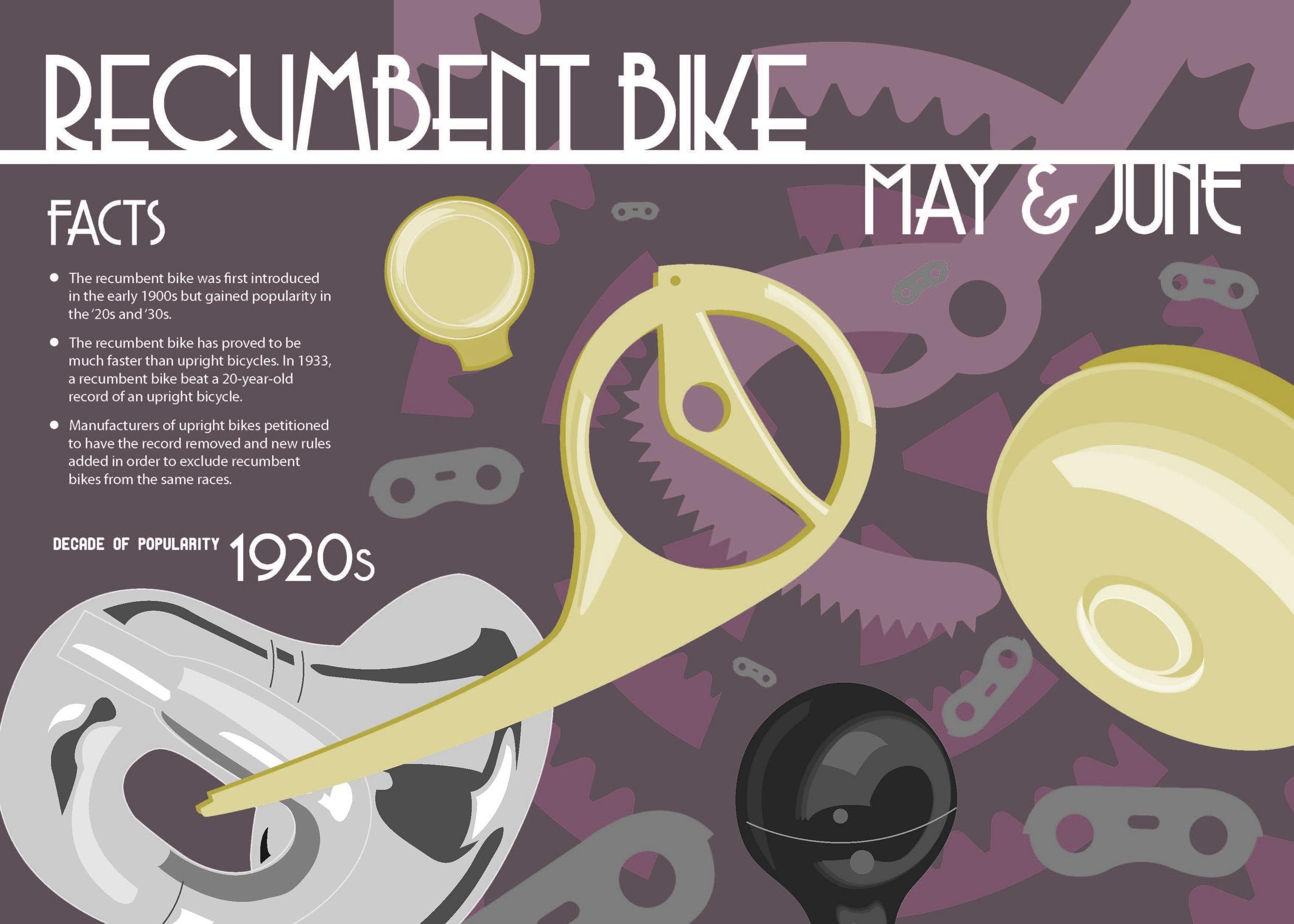Bike Calendar Digital Illustration