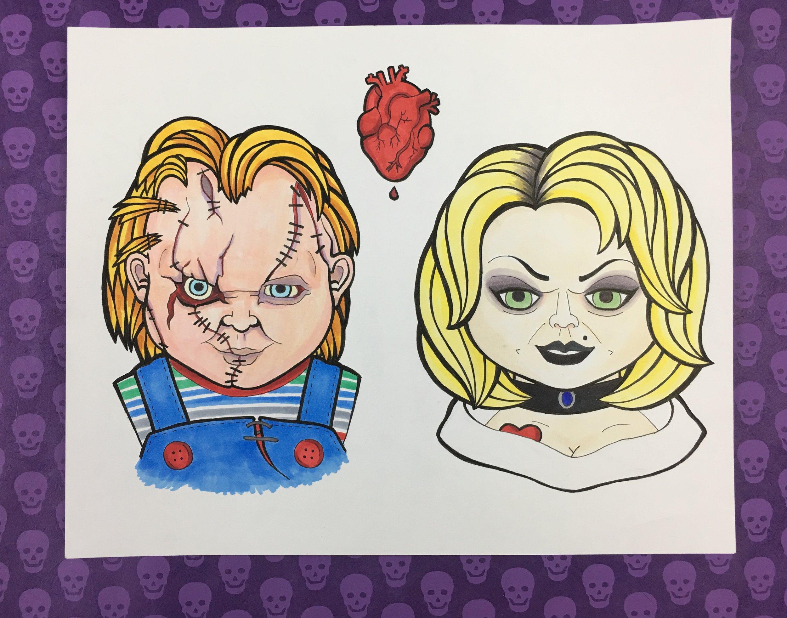 Chucky & Tiffany (2018)
