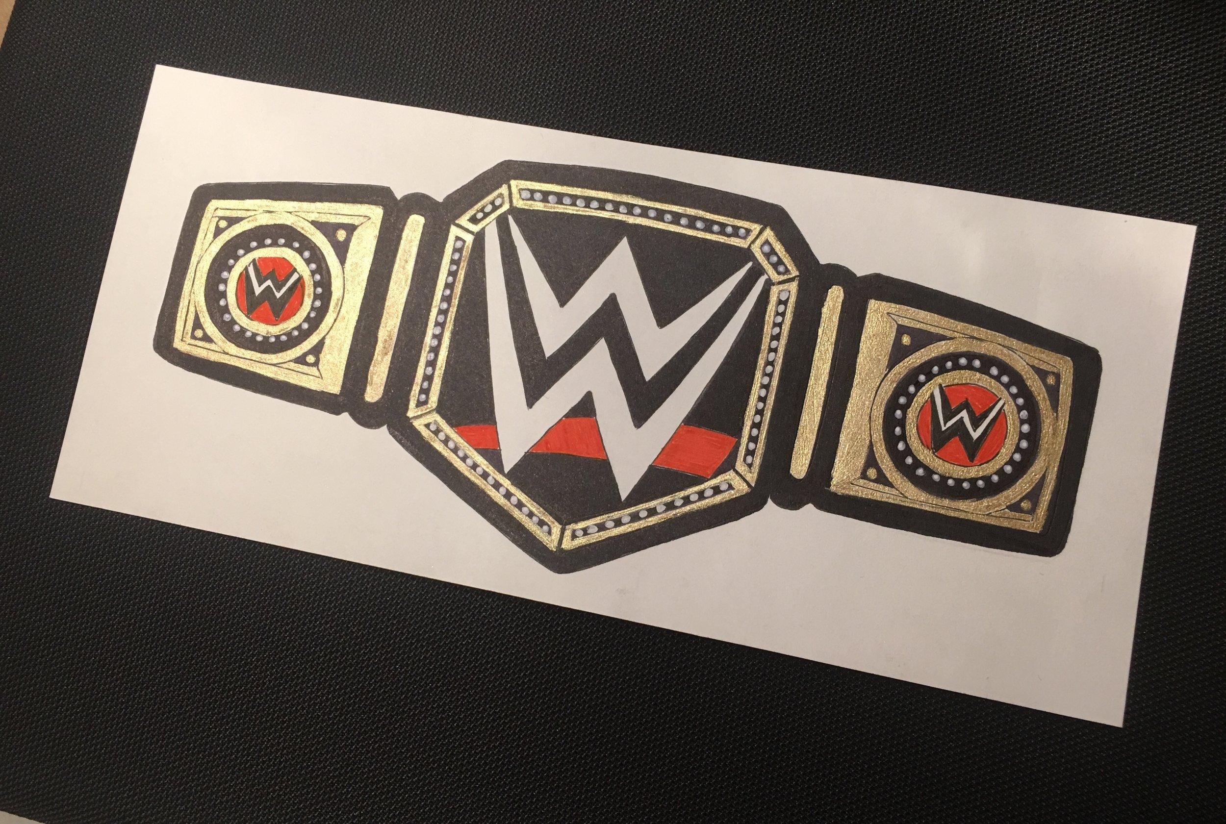 WWE Belt (2018)