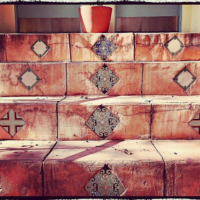 #losfeliz #realestate #vintage #spanish #tile #steps #weathered #1920s #home