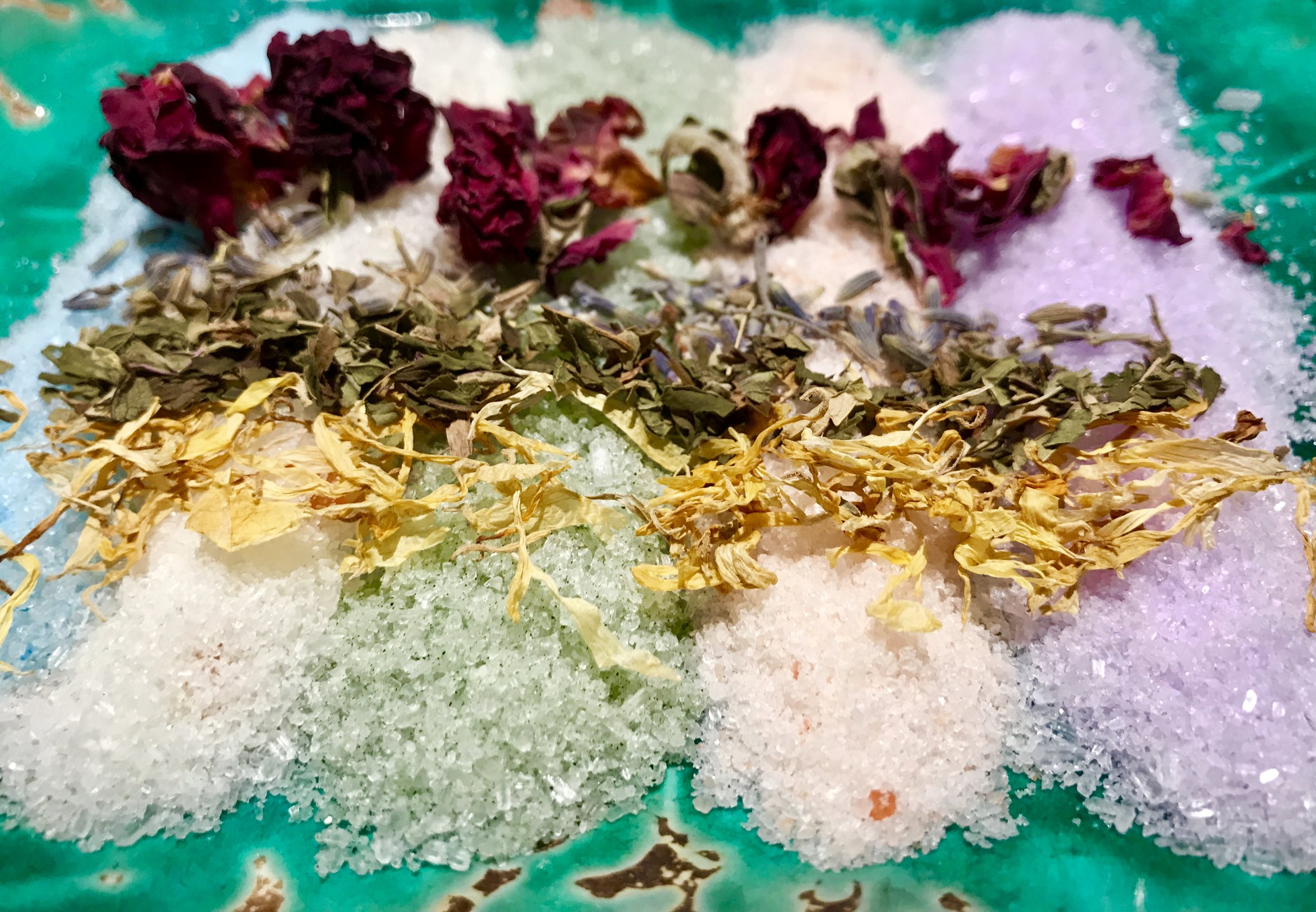 You wont believe how amazing our new bath salt bar looks now!