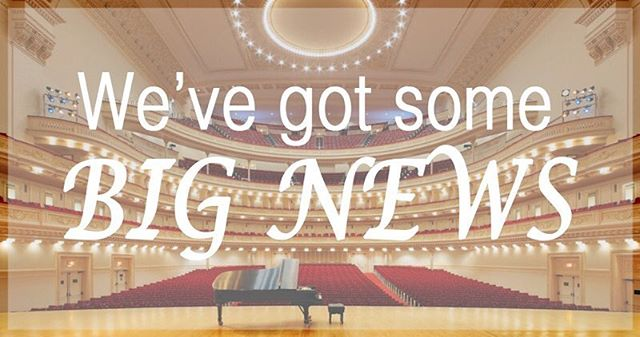 The Wrens are thrilled to announce that we have been invited to sing at The King's Singers 50th anniversary reunion concert at Carnegie Hall on April 22nd, organized by Distinguished Concerts International New York!  We need your help to get there, so please consider donating to our GoFundMe- even $5 helps!  See the link in our bio for more information. We'll be sure to keep you posted!