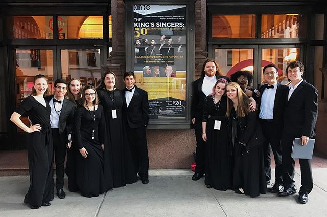 How do you get to Carnegie Hall? Practice, practice, practice!  Thank you to everyone who has helped us get to this point- your encouragement, love, and support both emotional and financial are so appreciated 💚 We've worked so hard to get here, and tonight it's all going to pay off!