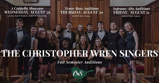 Today is the day! We had a wonderful time singing for you at showcase last night and we are so excited for auditions tonight and tomorrow! If you want to join this cute and crazy group, sing some incredible music, and make some new fwrens, sign up at the link in our bio or on our Facebook page.