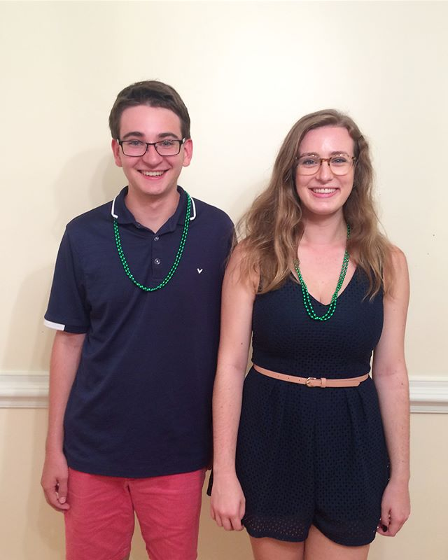 We are so excited to welcome freshmen Owen Peck and JaneAnne Stockton to Wrens! You are both so talented and we cannot wait to get to know you and sing with you these next few years!