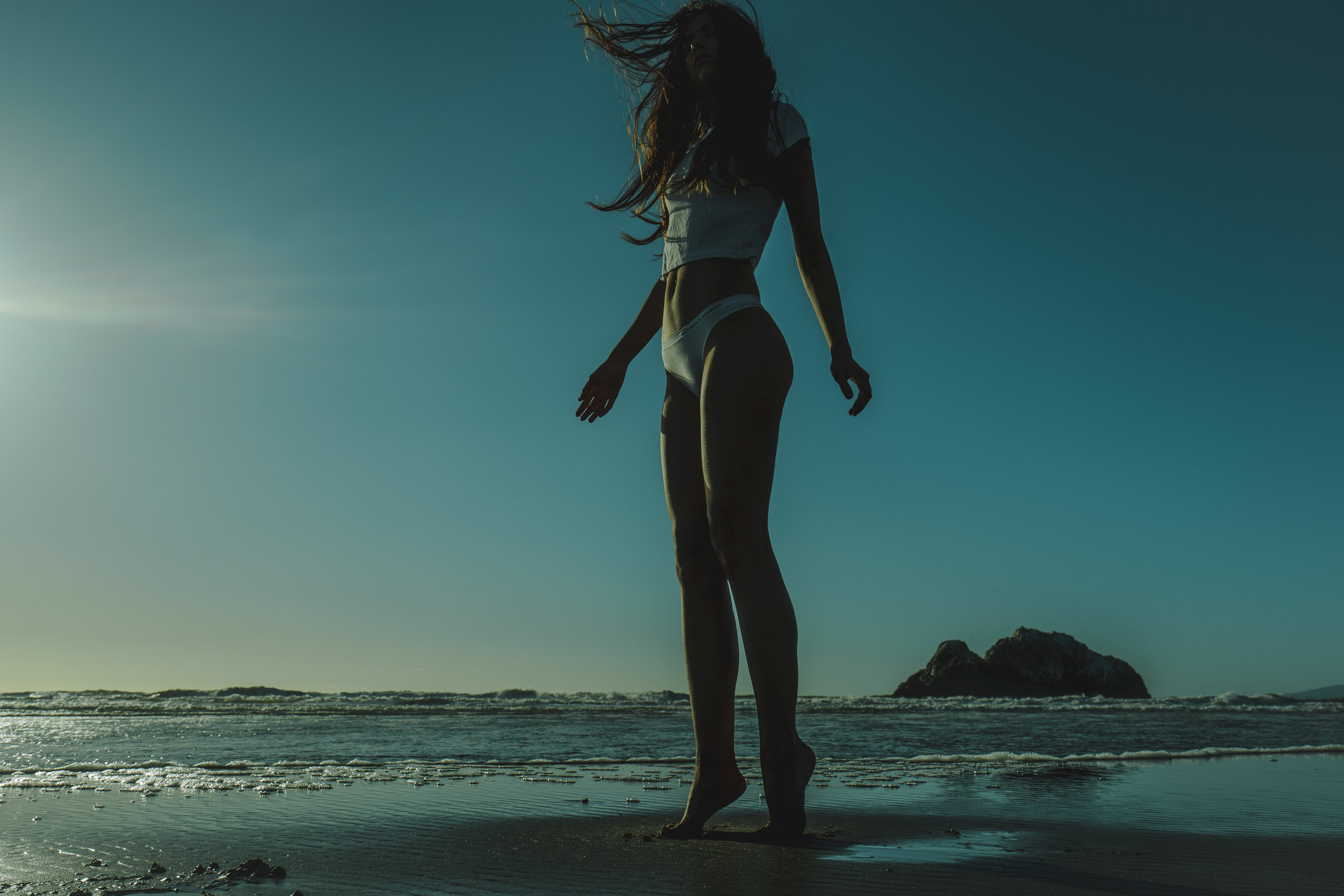 WINTER OF THE ELECTRIC BEACH - Starring Arial Jade