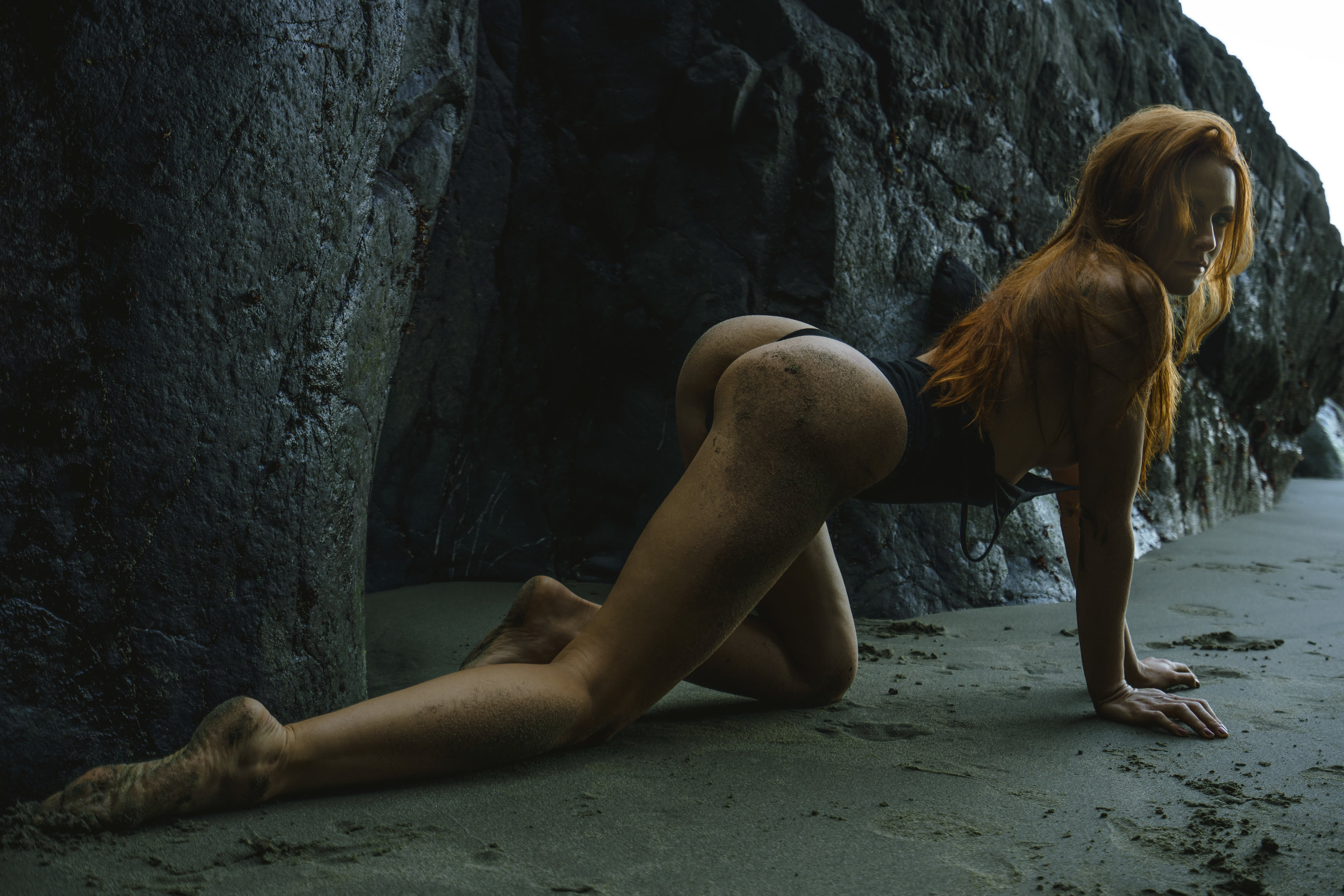 THE BEACH AT REDPOINT - Starring Imogen Absens