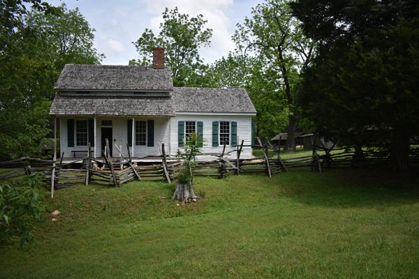 Colonel William Bratton Home in historic Brattonsville, SC