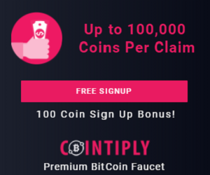 Sign up today and earn Bitcoin every hour!