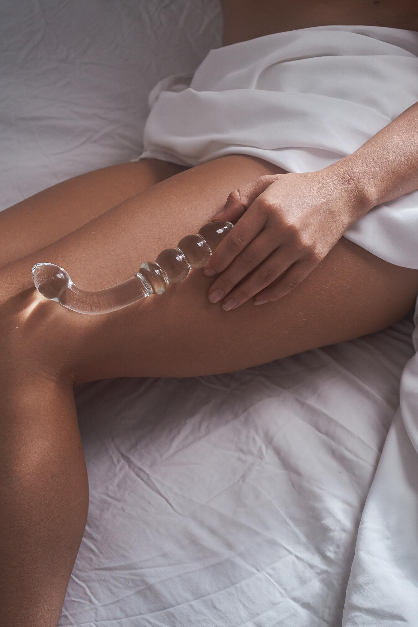The Medusa   - one hooked end for G-spot activation and beaded end for Anal stimulation. $66