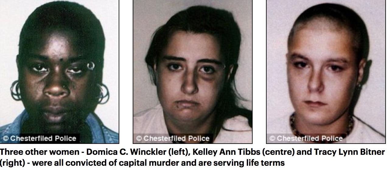 Domica Winckler, Kelley Tibbs, Tracy Bitner
