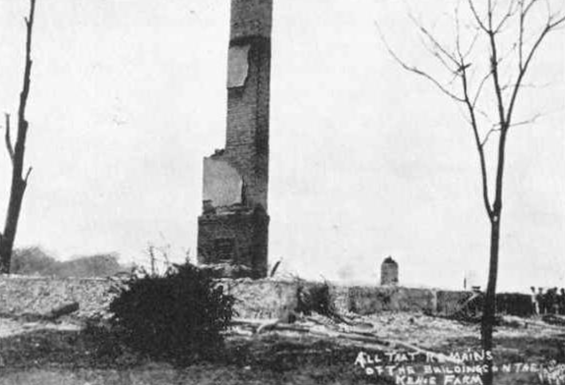Keho Farm After Bombing