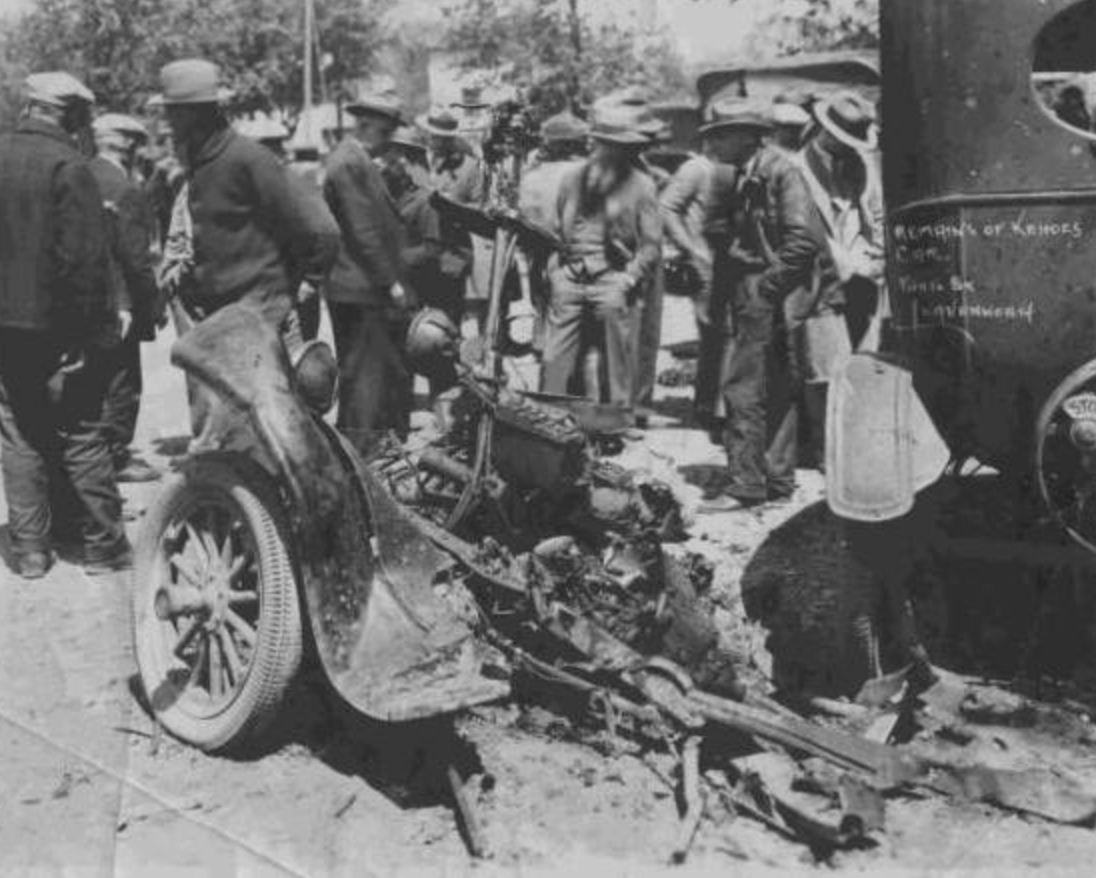 Andrew Kehoe's Truck After Bombing