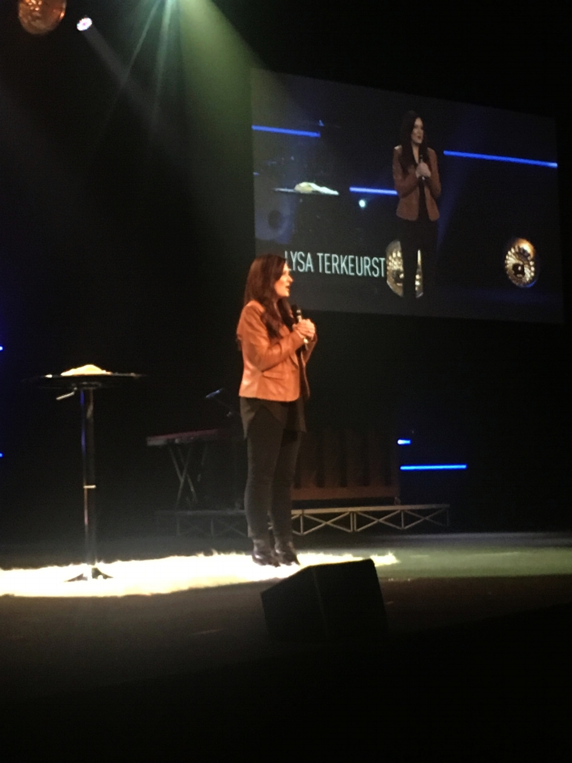 Lysa was such a great teacher! She is also the president of  Proverbs 31 Ministries .