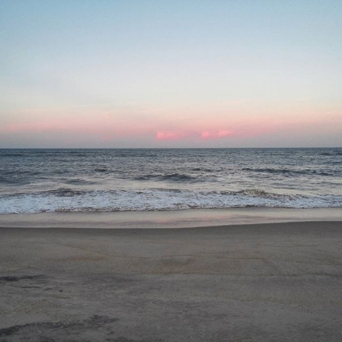 The beautiful, unequivocated beauty of the Outer Banks. [Waves, NC]