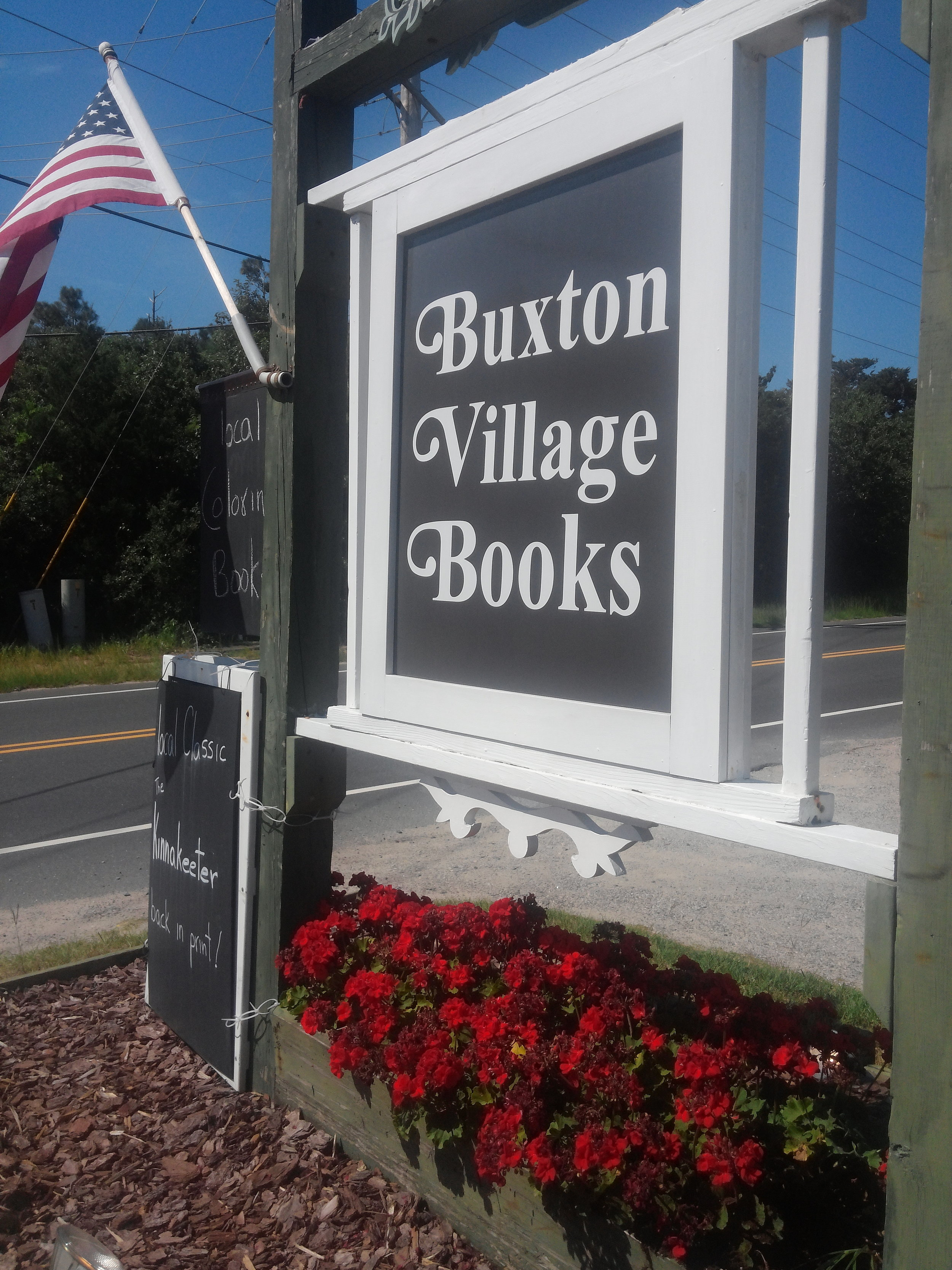 The bookstore is located directly off Hwy 12.