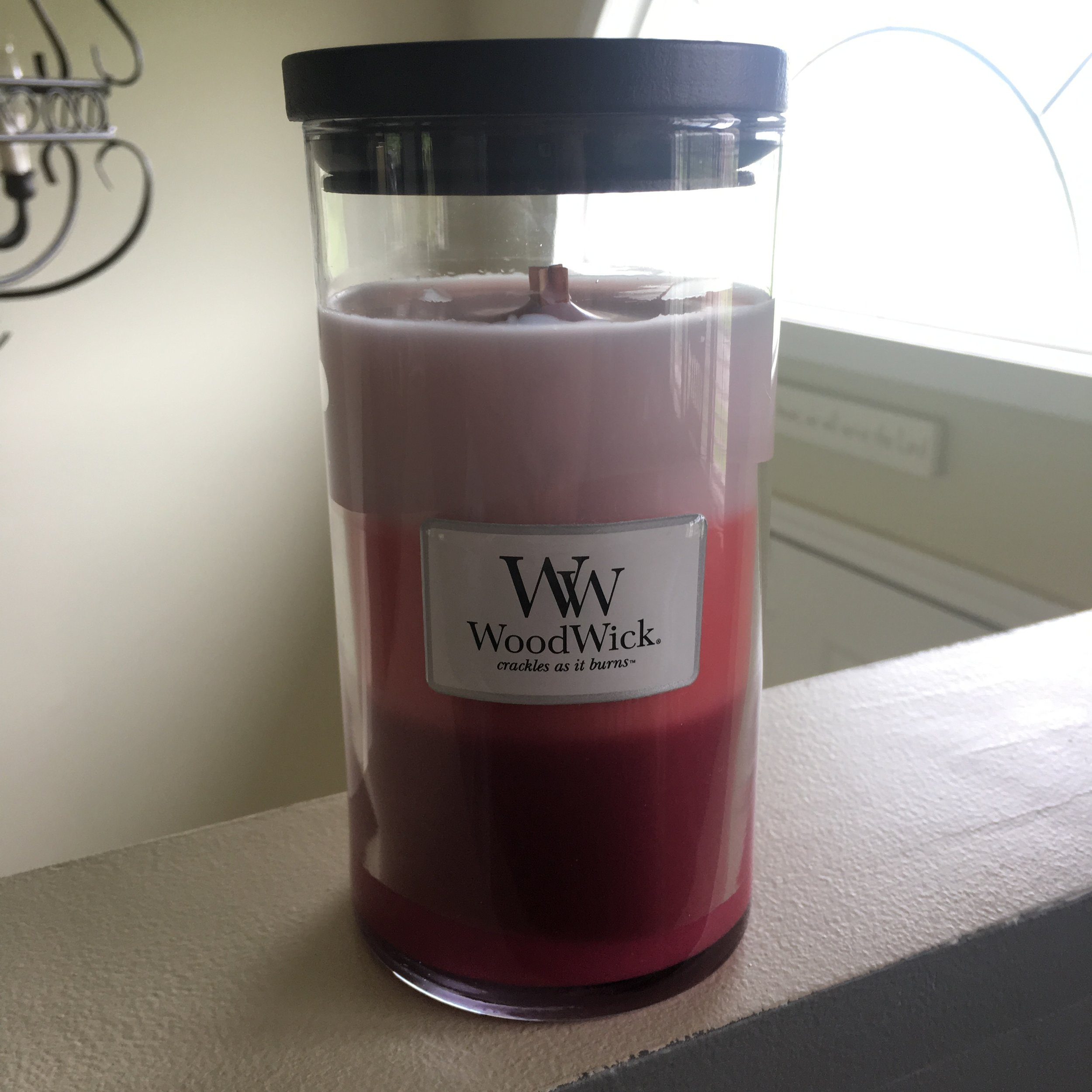 woodwick candle triple coconut
