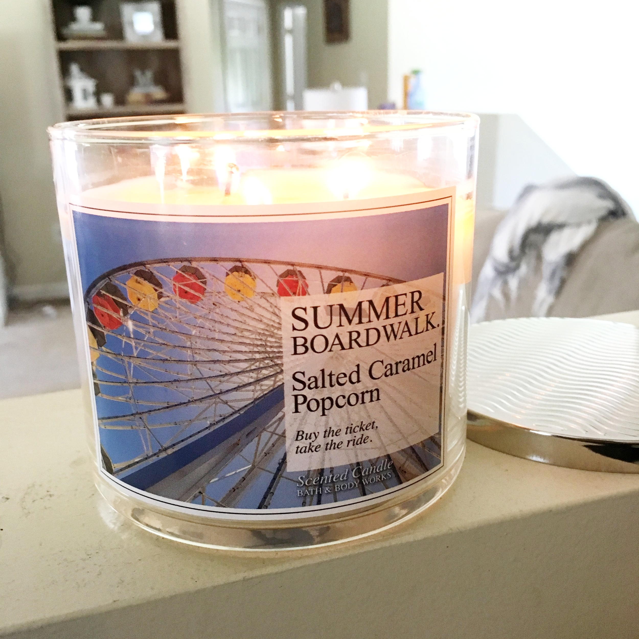 Bath & Body Works has great 3-wick candles.