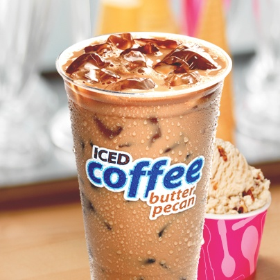 """Coined as """"old fashioned"""" butter pecan in this scrumptious iced coffee."""