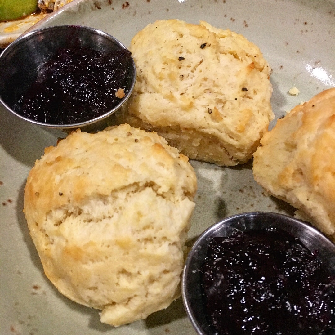 Scrumptious Homemade Biscuits & Jam