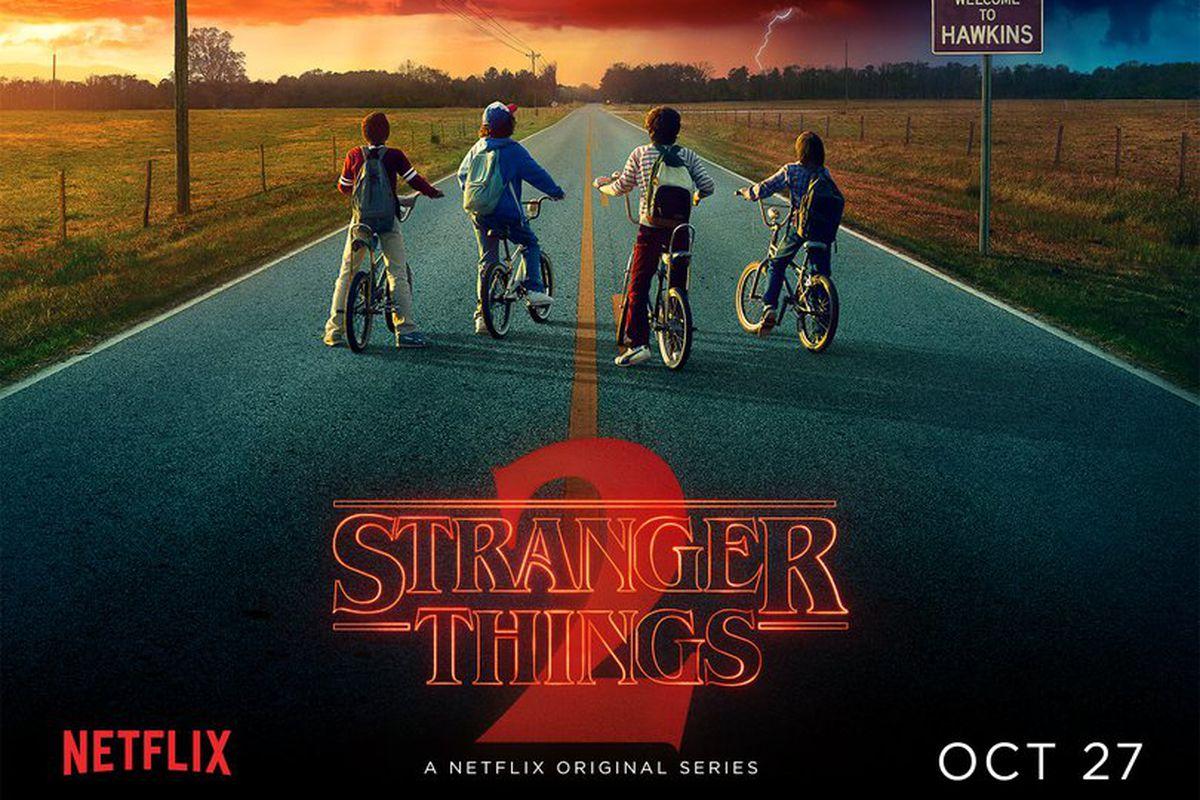 stranger things 2 poster