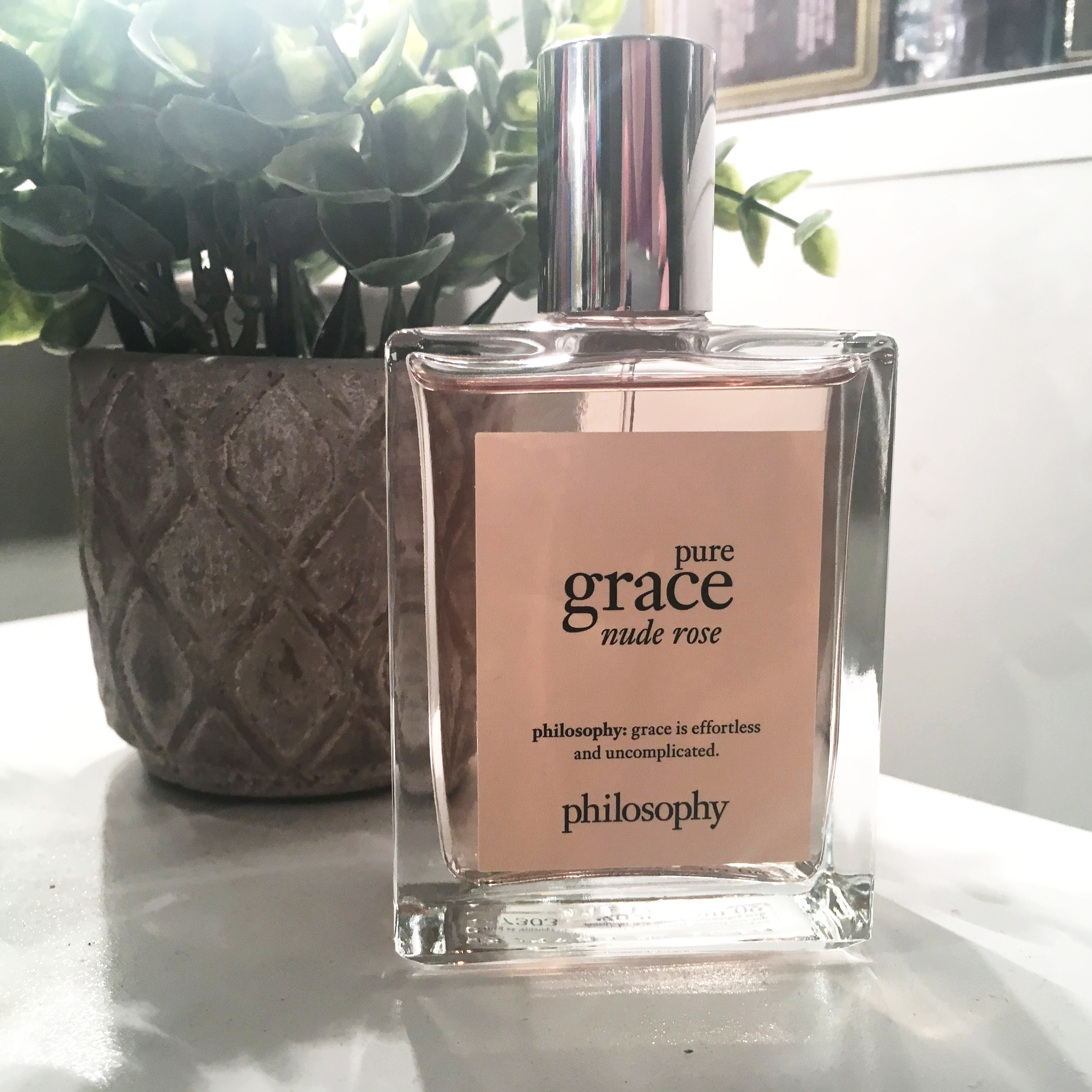 philosophy pure grace nude rose February favorites a cheerful life blog
