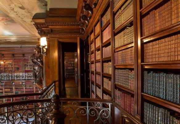 The Biltmore Library [Photo from The Biltmore Company]