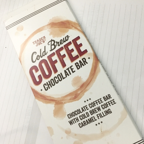 Trader Joes Cold Brew Coffee Chocolate Bar | March 2018 Favorites | A Cheerful Life Blog