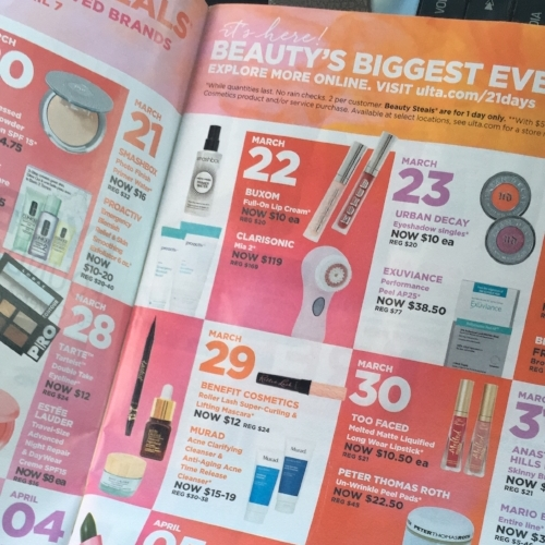 Ulta 21 Days of Beauty | March 2018 Favorites | A Cheerful Life Blog