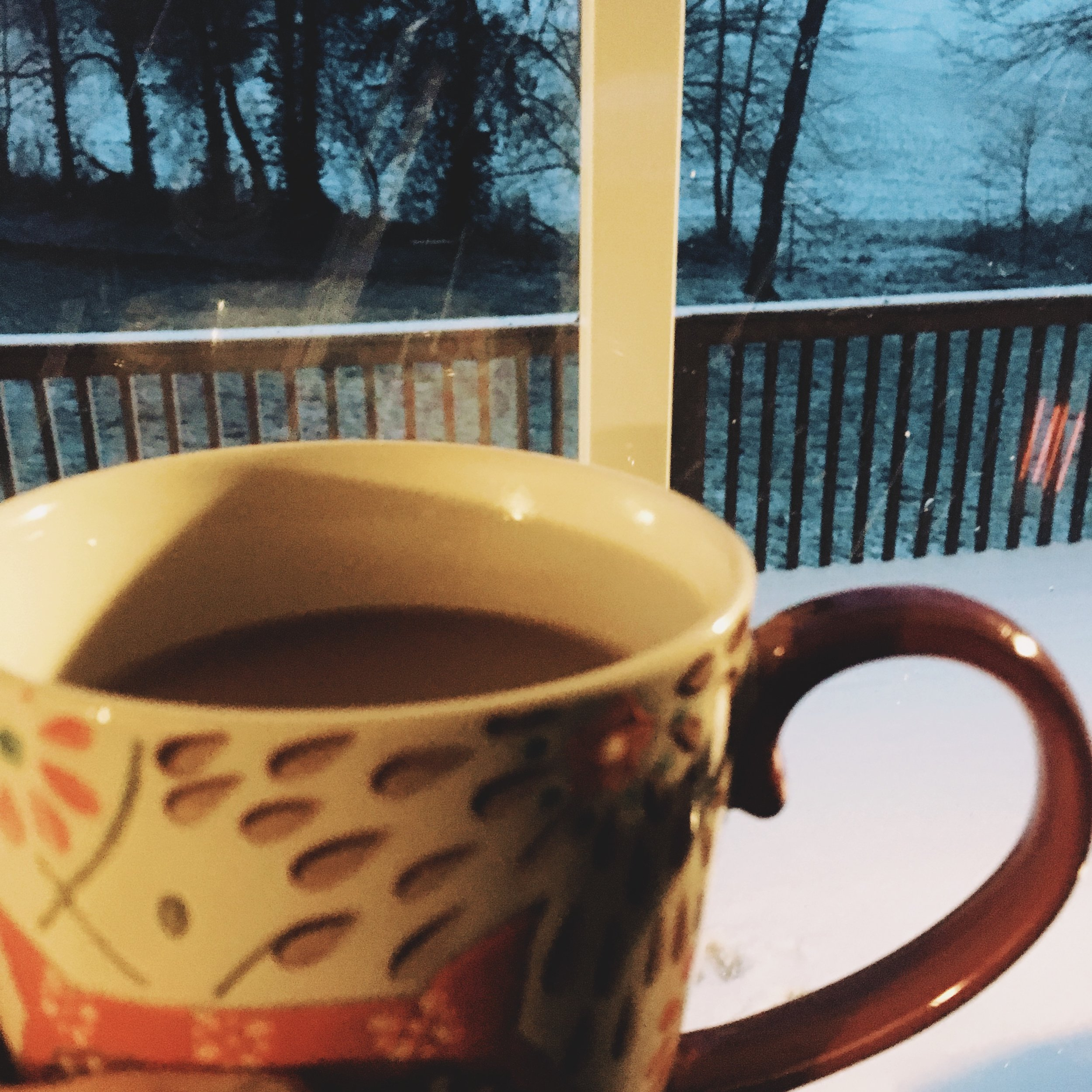 Snow & Coffee in March