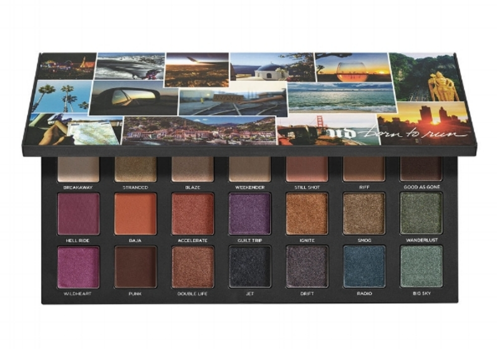 Urban Decay Born To Run Eye Shadow Palette - July Favorites - A Cheerful Life Blog