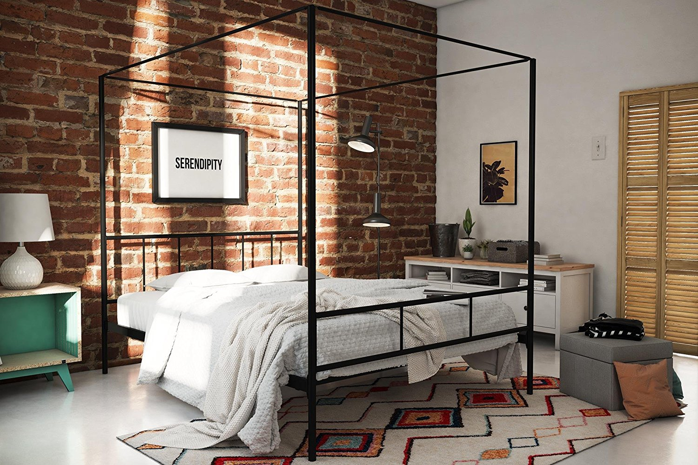 Novogratz Marion Canopy Bed - Amazon