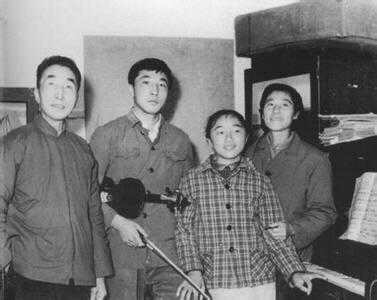 With family in the countryside during China's Cultural Revolution