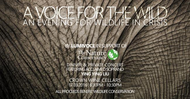 大自然保護協會募捐音樂會皇冠酒窖俱樂部香港